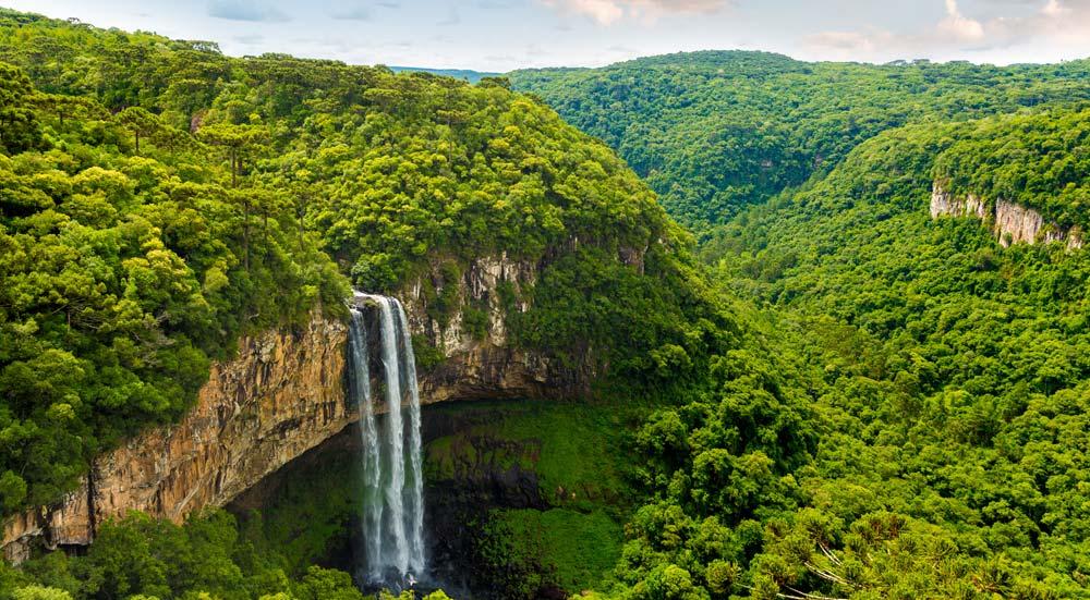 Caracol Park in Rio Grande do Sul, Brazilië