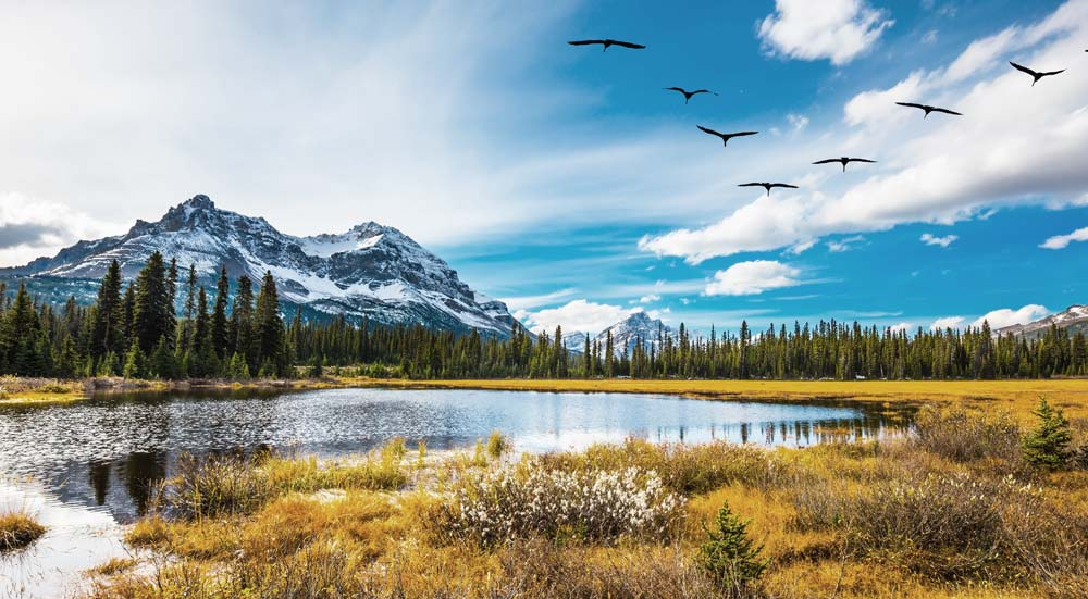 Prachtige meren in Canada