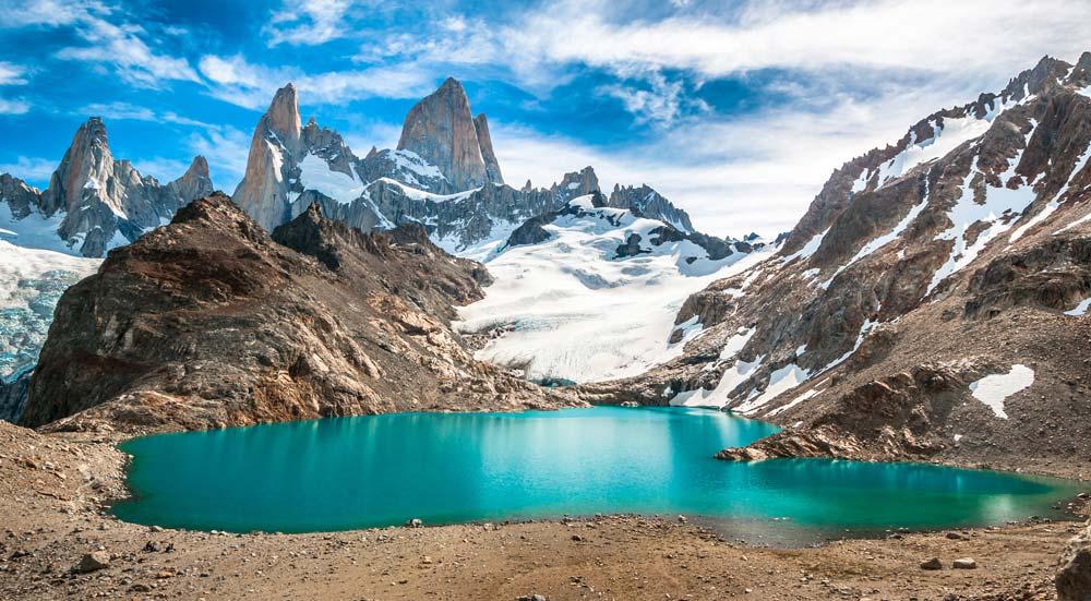 Laguna de los Tres, Patagonië, Argentinië